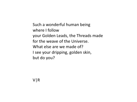 your dripping, golden skin